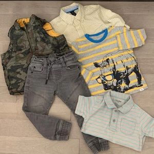 Lot of GAP baby boy clothes size 2/3